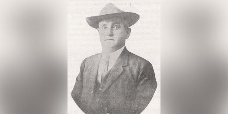 1 El constructor italiano Augusto Bressani