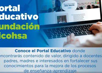 Fundación Ficohsa lanzó su Portal Educativo Fundación Ficohsa, una herramienta innovadora que ofrece contenidos de valor y recursos útiles para acompañar a los docentes, padres, madres y encargados en la ardua tarea de darle continuidad a la educación de los niños y niñas.