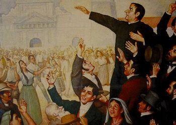 El primer movimiento independentista. Conocido como el primer grito de independencia de Centroamérica en 1811 en San Salvador. Fue una sublevación en contra de las autoridades de la Capitanía General de Guatemala.