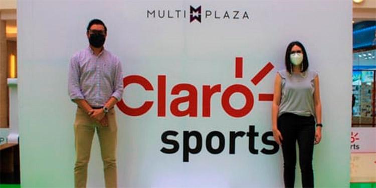 Mauricio Dávila, Subgerente de Publicidad Claro, y Paola Chinchilla, Jefe de marca Grupo Roble.
