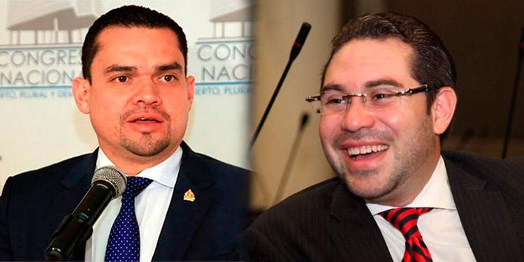 Tomás Zambrano y Jorge Cálix.