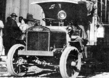 1 Camión utilizado para el Correo Nacional en 1913