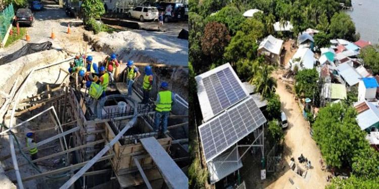 El acceso al agua potable y el tratamiento de aguas residuales son vitales para preservar la salud de pobladores y de ecosistemas marinos en ese atractivo turístico de Roatán.