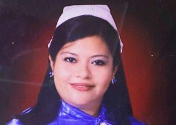 La licenciada Ana Aplícano Figueroa es jefe de Enfermería de la Sala COVID de Mujeres del IHSS.