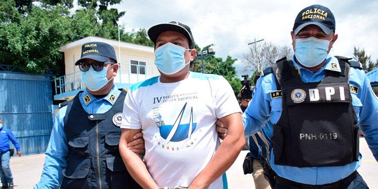 Alejandro Ernesto Pérez Mejía (32) fue remitido a la Penitenciaría Nacional, en Támara, acusado de matar a un dirigente magisterial.