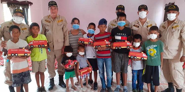 El Cuerpo de Bomberos es una institución filantrópica en beneficio de la población.