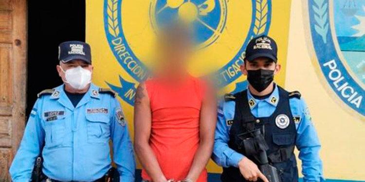 El individuo fue capturado en el barrio El Pino, de Campamento, Olancho.