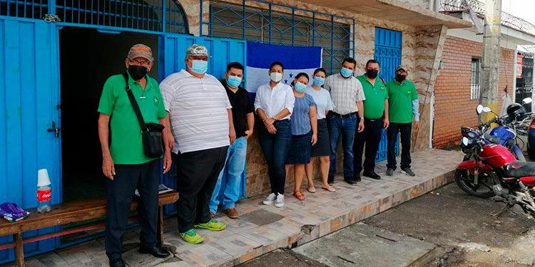 Los trabajadores del RNP, en Choluteca, realizaron una asamblea informativa.