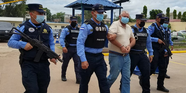 Sobre Cruz Humberto Valle Valle, originario de Florida, Copán, pendía una orden de captura emitida por el Juzgado de Jurisdicción Nacional.