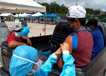 En el departamento de Cortés, hoy inicia la vacunación contra el COVID-19 para hondureños de 20 años en adelante.