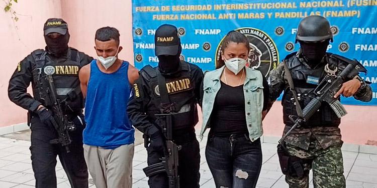Marbella Michel Sánchez Barahona fue detenida junto a Jarel Oziel Ochoa Hernández