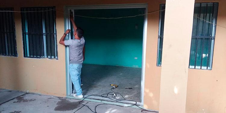 La remodelación de las oficinas de la Dinaf, en Choluteca, permitirá tener un ambiente amigable, seguro y confidencial para la niñez.