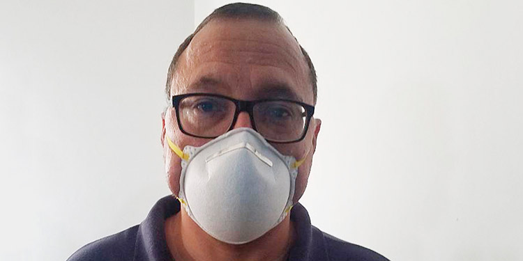 """Douglas Avelar (epidemiólogo): """"Mucho cuidado con la salud, sobre todo por el COVID-19""""."""