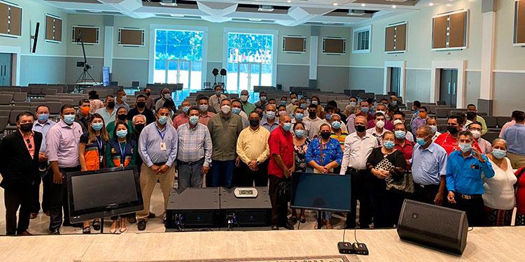 """El pastor José Luis Ordóñez, vicepresidente de la Confraternidad Evangélica de Honduras, dijo que """"estamos en una campaña aquí en San Pedro Sula""""."""
