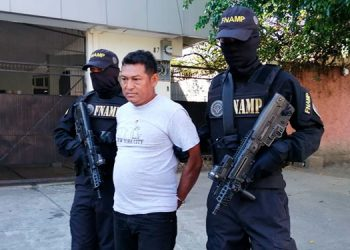 Jorge Alberto Sánchez Castellón cobraba 500 lempiras semanales de extorsión a un testigo protegido.