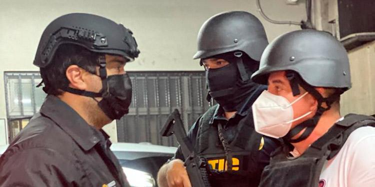 """Fredy Donaldo Mármol Vallejo (36), alias """"Chele"""", se encuentra preso en el Primer Batallón de Infantería."""