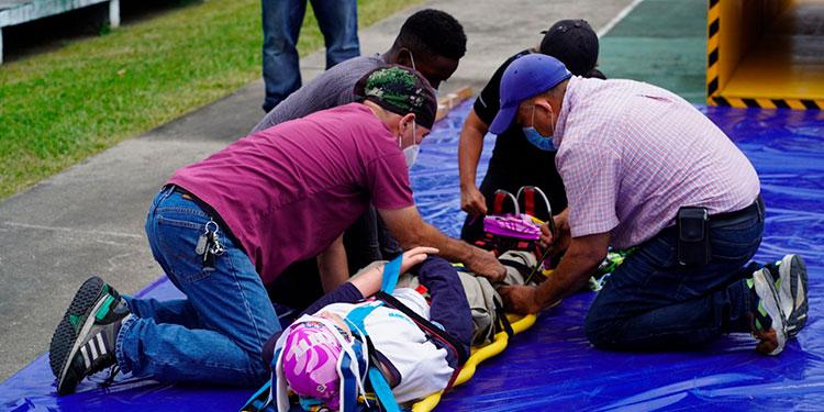 Durante 4 meses la Unidad de Seguridad y Salud Ocupacional de la Asociación Hondureña de Maquiladores (AHM) capacitó al equipo de rescate de la municipalidad de San Pedro Sula.