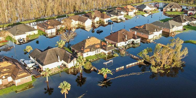 Ida dejó daños considerables en Louisiana.