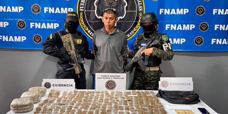 """Miguel Alexis Martínez Fuentes (44), alias """"El Indio"""", fue detenido por tráfico de droga y extorsión."""