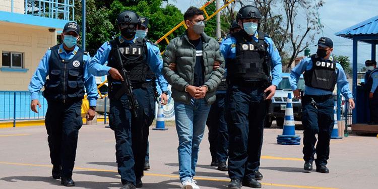 El miembro de la pandilla 18, Michael André Mejía Carranza.