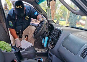 Víctor Manuel Lozano Puerto y Elton Lomark Woods Daniels fueron capturados por agentes de la ATIC.