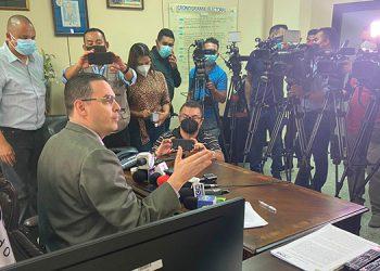 Kelvin Aguirre afirmó que en las acciones y procesos del CNE no ha habido injerencia de ningún partido político.