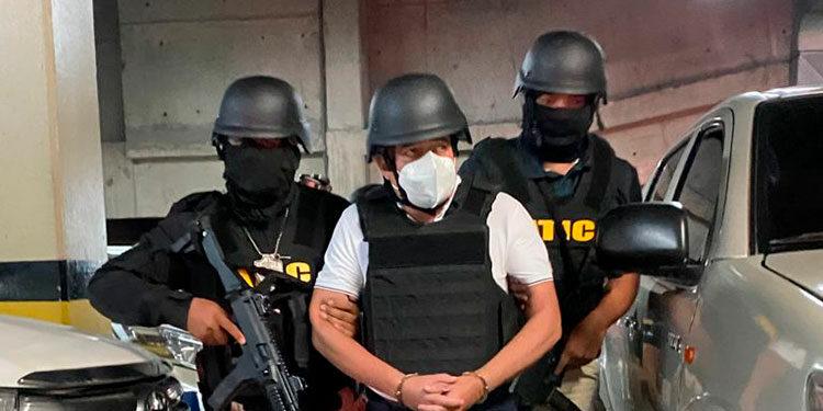 """Fredy Donaldo Mármol Vallejo (36), alias """"Chele"""", fue detenido la semana pasada por la ATIC, en la capital."""