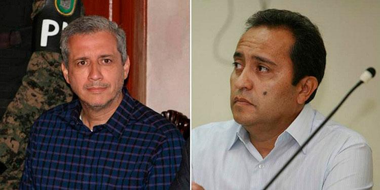 Mario Zelaya y Ramón Bertetty.