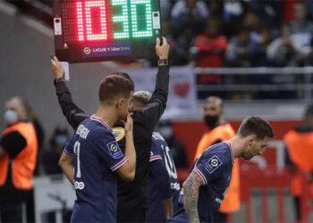 Messi se estrenó el domingo con el PSG.