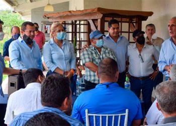 Asfura dijo que el respaldo para los candidatos a alcaldes y diputados es fundamental.