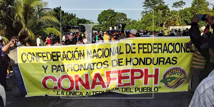 Las protestas se realizaron desde las 5:00 de la mañana, en varios sectores del país.