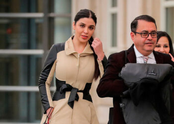 """La sentencia de Emma Coronel, la esposa del narcotraficante mexicano Joaquín """"El Chapo"""" Guzmán, se ha pospuesto un mes después."""