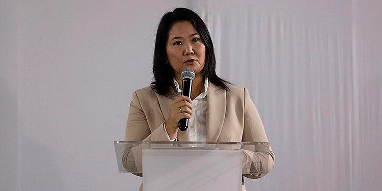 Keiko Fujimori. (LASSERFOTO EFE)