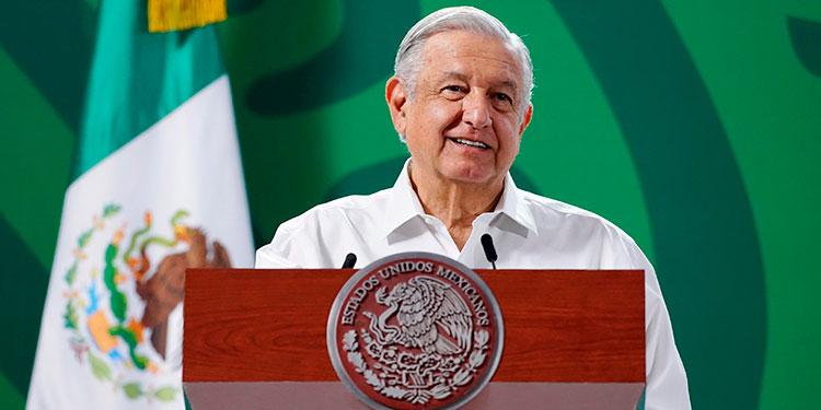 El presidente de México, Andrés Manuel López Obrador, dijo que no descarta que haya juicios contra exmandatarios del país pese a la pobre participación en un referéndum. (LASSERFOTO EFE)