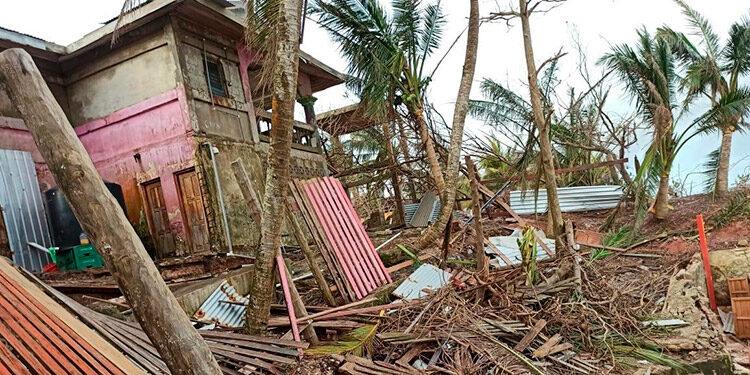 """La Fuerza Naval del Ejército de Nicaragua llamó a la población de la costa Caribe a """"resguardar la vida"""", ante la amenaza que representa la posible formación de un ciclón tropical. (LASSERFOTO EFE)"""