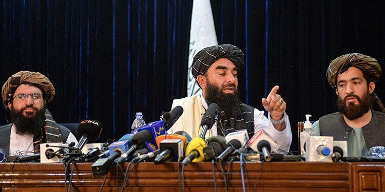 Zabihullah Mujahid. (LASSERFOTO AFP)