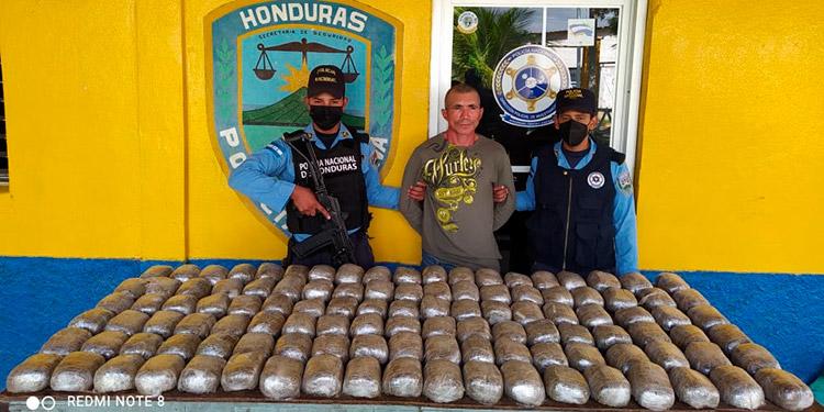 A Tiburcio Amador, la Policía Nacional ya días le daba seguimiento, porque es considerado uno de los mayores distribuidores de marihuana en Guaimaca.