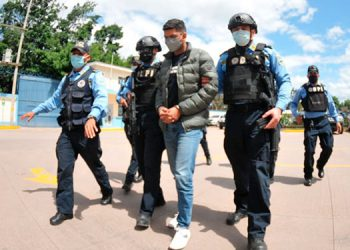El segundo detenido, Michael Andrade Mejía Carranza, fue puesto a disposición de los órganos competentes para continuar con las diligencias por los hechos del 25 de julio pasado.
