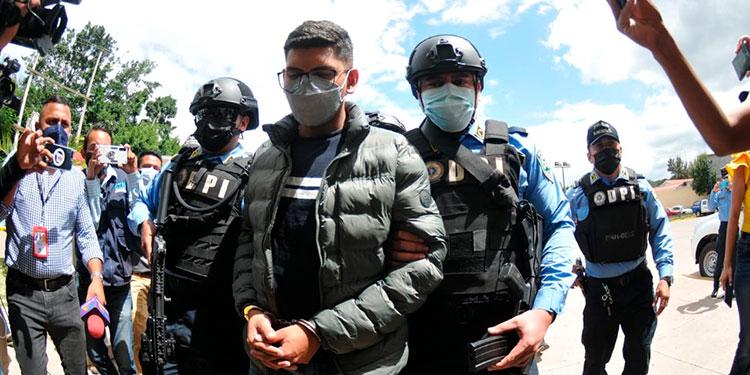 """Michael André Mejía Carranza (21) continuará recluido en """"La Tolva"""", por el supuesto asesinato de la excongresista Carolina Echeverría Haylock."""