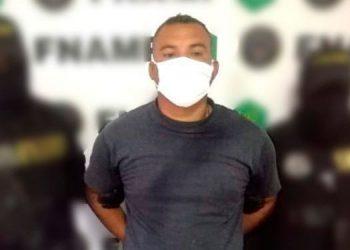 Santos Leonel Velásquez Gómez fue condenado por el delito de extorsión contra un testigo protegido.