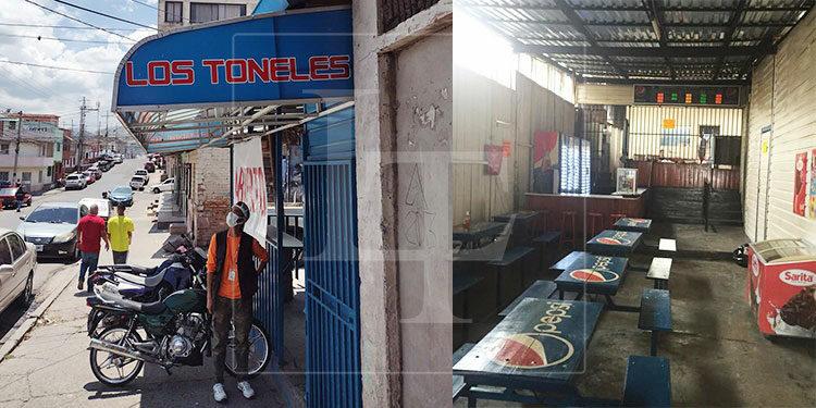 Clientes del comedor aguardan la esperanza que el cierre de 'Los Toneles' sea algo temporal y que pronto entre de nuevo en funcionamiento.