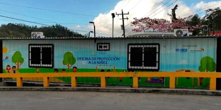 ACNUR y World Vision Honduras apoyan el establecimiento de Oficinas de Protección a la Niñez.