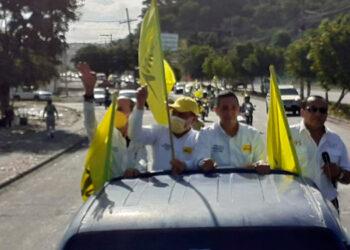 El novel partido Vamos que postula a Ramón Coto, arrancó su campaña.