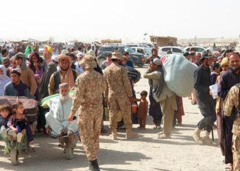 Miles de colabores de los EEUU quedaron en Afganistán.