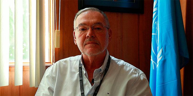 Dennis Latimer, representante de FAO en Honduras.