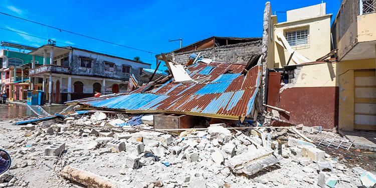 Un terremoto de fuerte proporciones sacudió Haití.