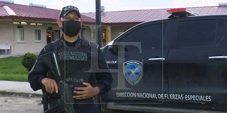 Policía Kevín Merlo (Foto en vida).