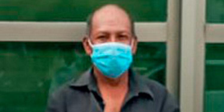 Gerardo Carranza Flores acusado por el parricidio de María Suyapa Raudales Dubón.