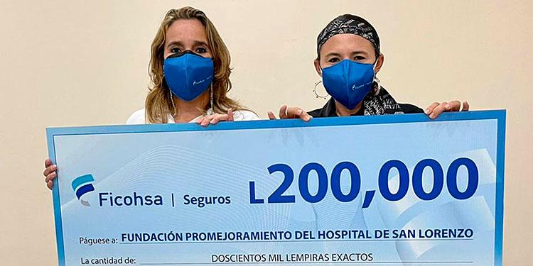 El aporte viene a ayudar a las comunidades aledañas al hospital.