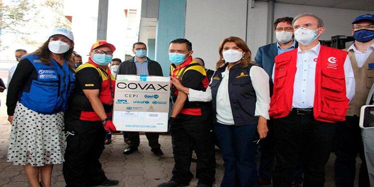 """La solicitud de reservar información de los contratos con empresas farmacéuticas fabricantes o proveedoras de las vacunas contra la COVID-19 """"no es de la Secretaría de Salud, no es el gobierno, dijo Flores."""